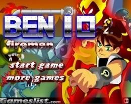 Бен 10 - Повелитель огня 2