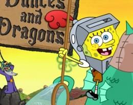 Губка Боб и Драконы