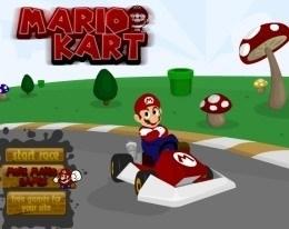 Марио на картинге