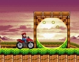 Путешествие Марио в мире Соника