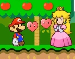 Марио влюбился в принцессу