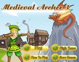 Средневековый лучник 3