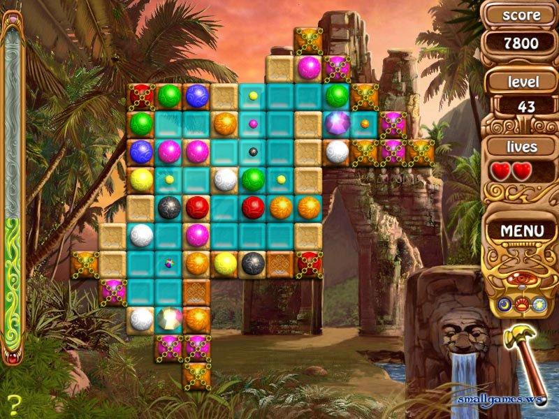Мини игры логические Скарабеи Фараона, Crystall Path, Сферы