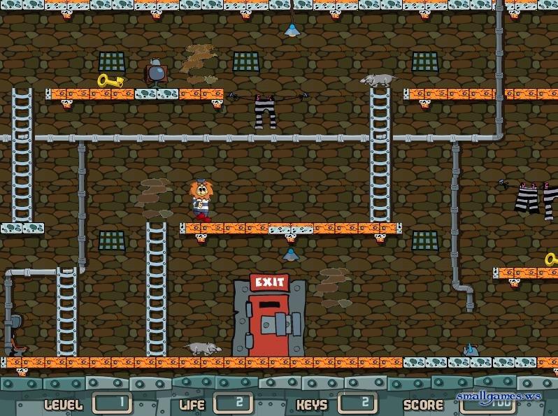 видео игра побег из тюрьмы с лололошкой