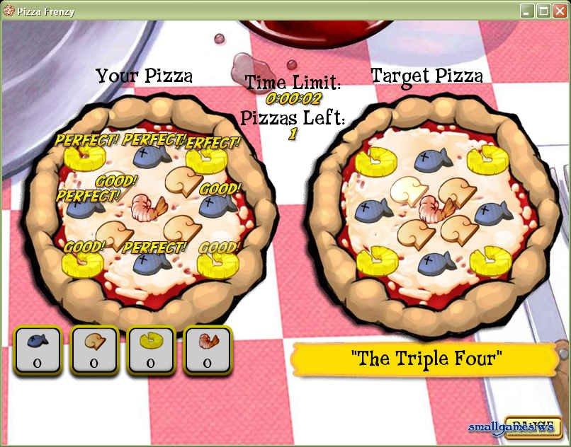 Pizza Frenzy Скачать Игру - фото 10