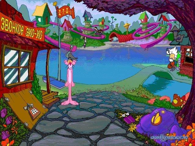 Игра Розовая Пантера Фокус Покус скачать торрент