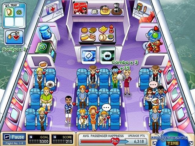 Игра приключения стюардессы скачать