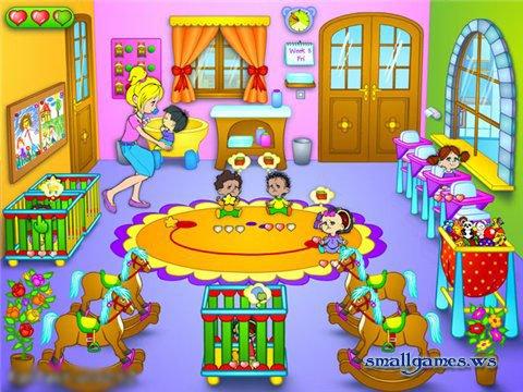 Kindergarten for Baby room decoration games free online