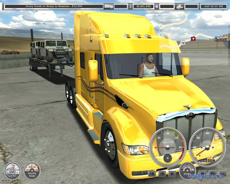Игры Euro Truck Simulator бесплатно играть и скачать Евро