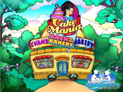 Cake Mania: Back to the Bakery