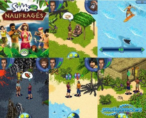 Sims 2: Робинзоны (The Sims 2: Castaway Mobile)