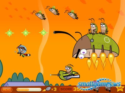 The Fairly Odd Parents Timmy's Roach Rampage