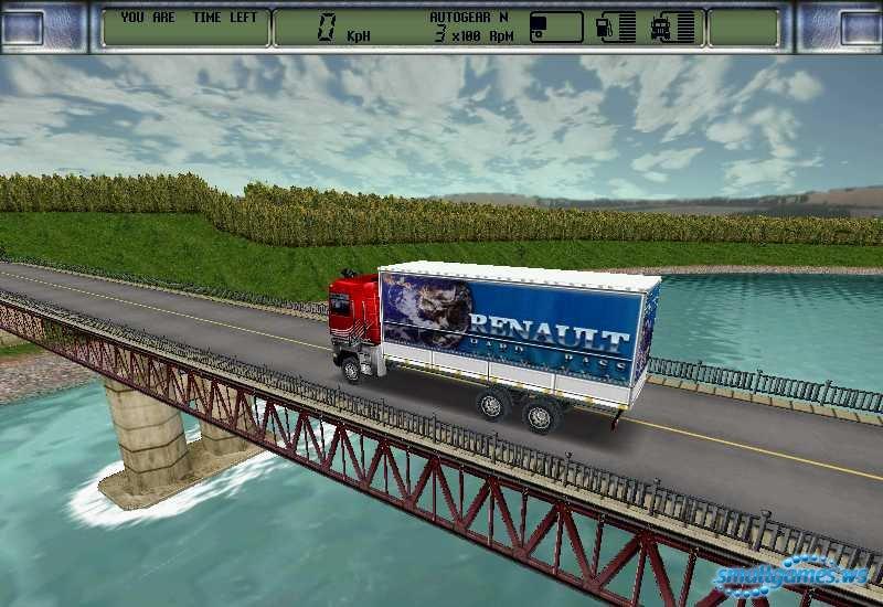 Скриншоты для игры King of the Road Дальнобойщики 2.