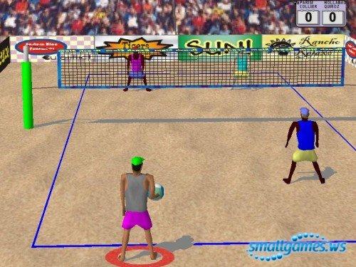 Beach Slam 2 Pro Beach Volleyball