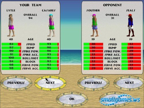 Beach Slam 2 Pro Beach Volleyball