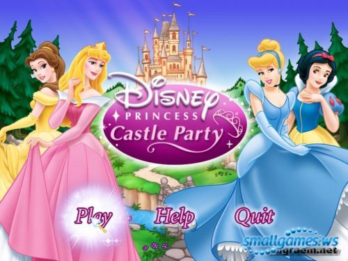 Disney Princess Castle Party