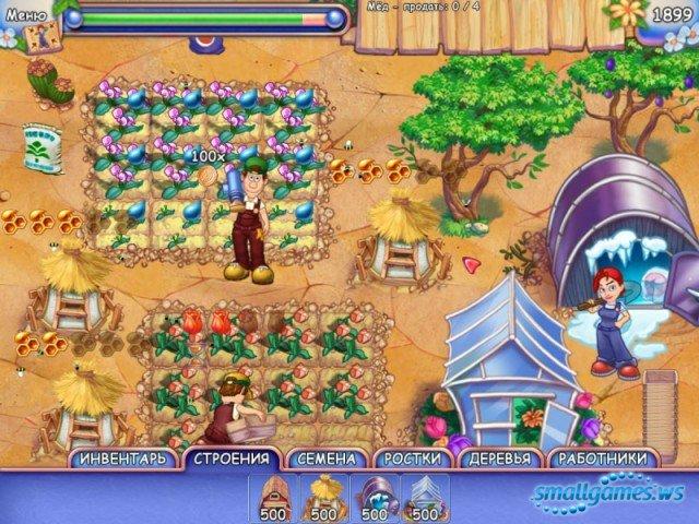 Скачать бесплатно Игру FarmCraft / Чудесный огород (полная версия) .