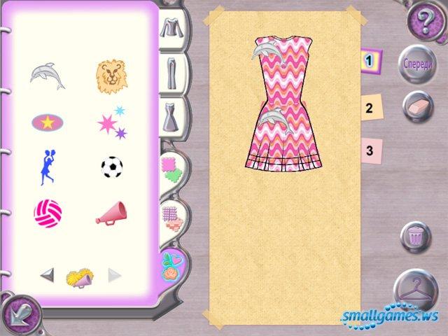 Дизайн платьев игры