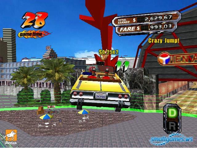 скачать игру Crazy Taxi на компьютер - фото 5