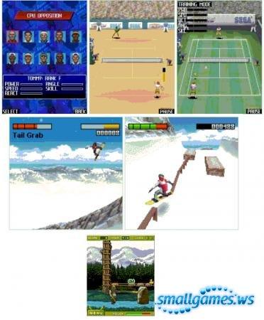 Игры на Sony Ericsson с разрешением экрана 176х220
