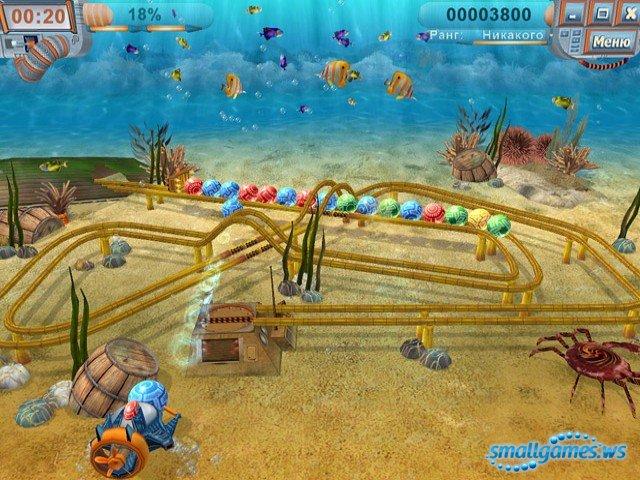 NovaGame.ru - Скриншот Тайна шести морей, скачать бесплатно мини игру