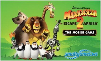 Мадагаскар 2: Побег в Африку (Java)