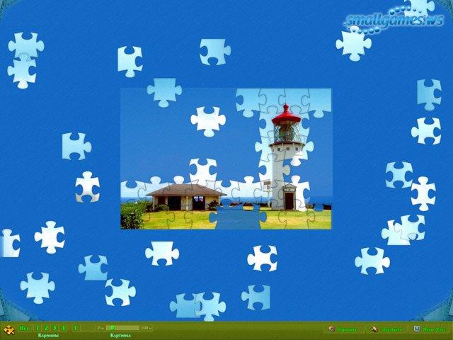 Пазлы. Бриллиантовая коллекция \ Jigsaw Puzzle Diamond 2009, Casual