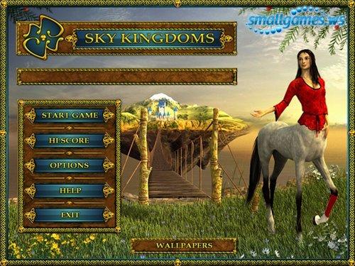 لعبة السرعة والدقة المسلية جدا Sky Kingdoms بمساحه ميجا فقط