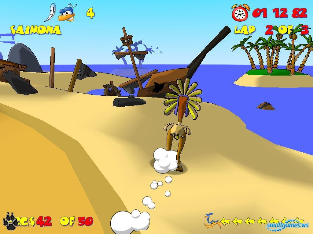 LO undertakings страусиные бега - детская игра.