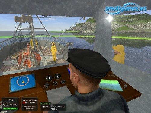Hochseefischen - Die Simulation