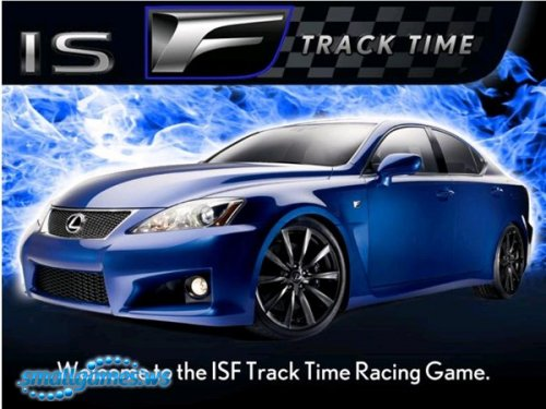 Lexus ISF Track Time