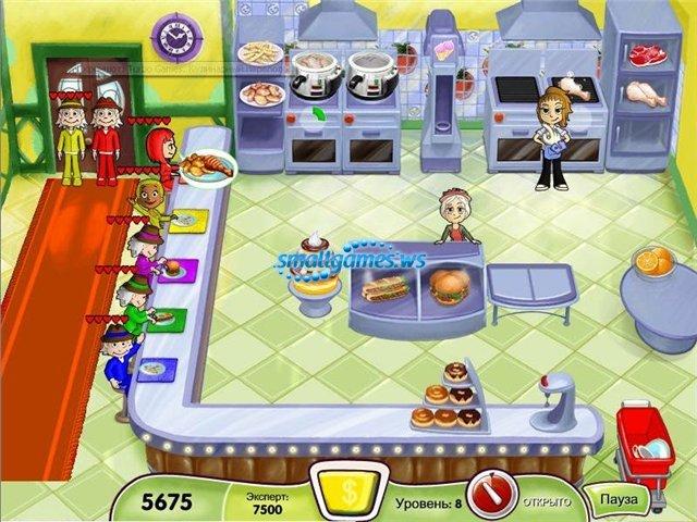 Детские игры кулинария бесплатно