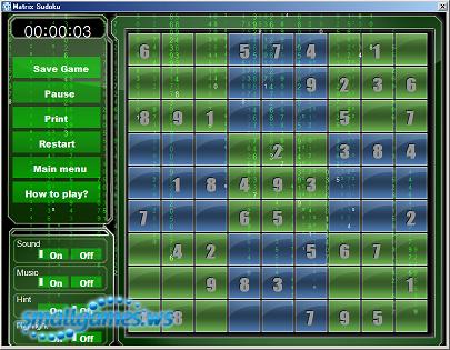 Matrix Sudoku v2.25