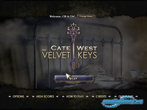 Cate West — The Velvet Keys