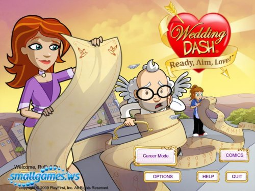 Wedding Dash 3: Ready, Aim, Love!