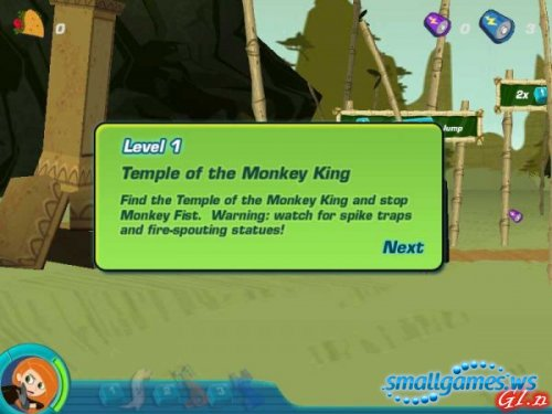 Kim Possible: Legend of the Monkeys Eye