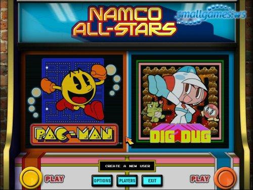 Namco All-Stars: PAC-MAN & DIG DUG