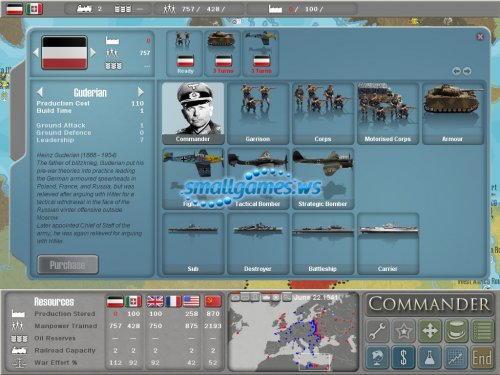 Military History Commander - Europe At War