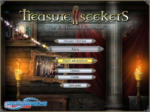 Treasure Seekers II - The Enchanted Canvases