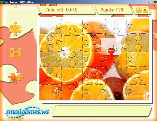 Fruit Jigsaw