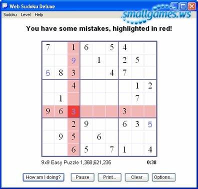Web Sudoku Deluxe v1.2.2