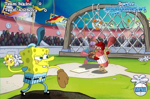 Губка Боб(Sponge Bob)[32 мини-игры]
