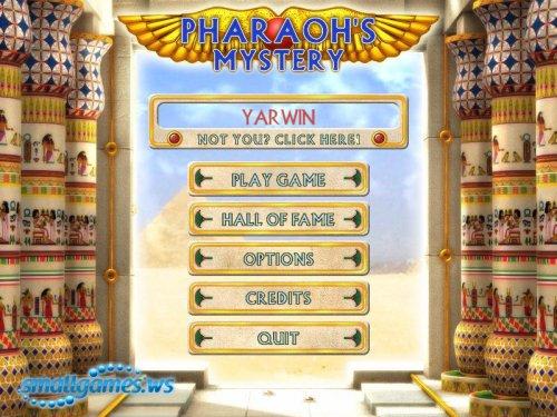 The Pharaoh's Mystery