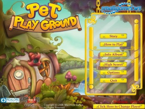 Pet Play Ground
