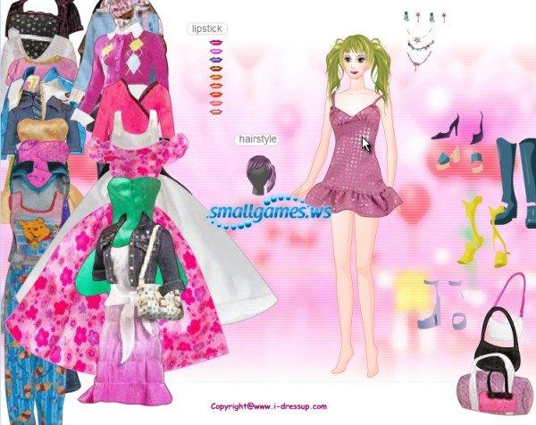 Dress up Girl (флэш-куклы) - полная версия