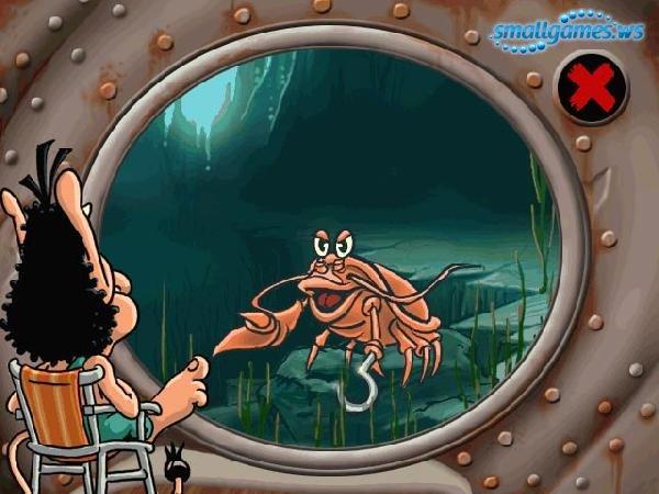 Кузя. Подводное сафари скачать игру бесплатно.