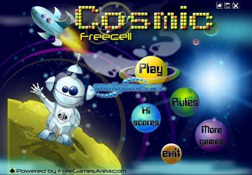 Cosmic Freecell - Карточный пасьянс