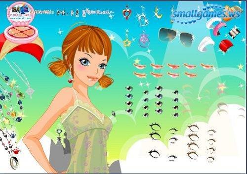 Dress up Girl (флэш-куклы)