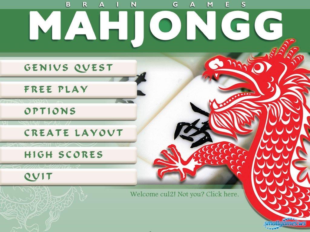 Brain Games Mahjongg.