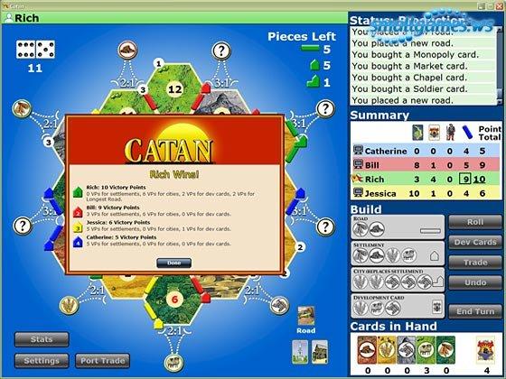 Catan | el juego de computadora | libere las revisiones de la.